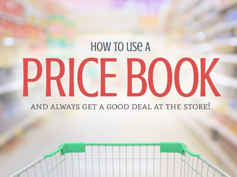 How to use a price book to get a good deal at the grocery store. | Tiny Kitchen Cuisine | https://tiny.kitchen/